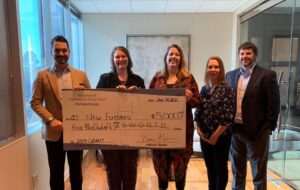 Bridgeworth donates 5000 to New Futures, helping to keep families together