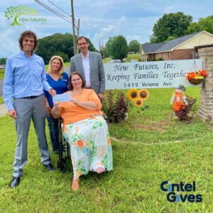 Cintel donates to New Futures - Keeping Families Together!
