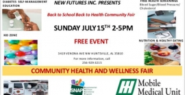 Back to School Back to Health Community Fair